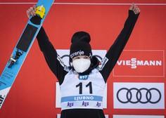 Ema Klinec svetovna prvakinja v Oberstdorfu