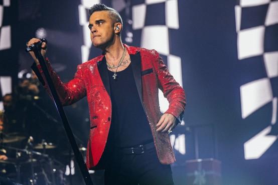 Poleti začetek snemanja biografskega filma o pevcu Robbieu Williamsu