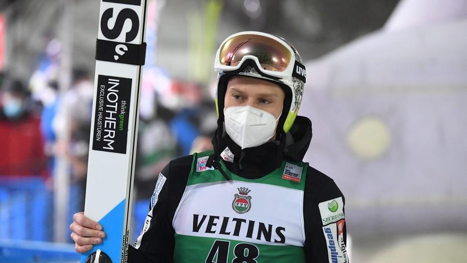 Anže Lanišek na svetovnem prvenstvu osvojil tretjo slovensko kolajno v skokih (foto: profimedia)