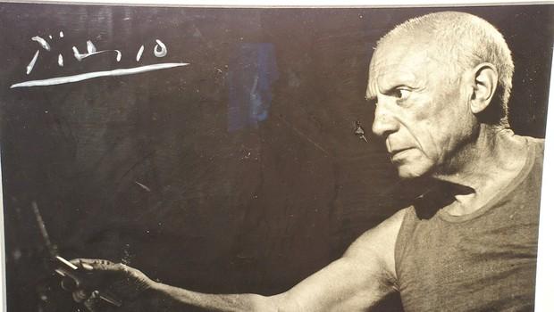 Za Picassovo sliko Ženska z baretko naj bi iztržili od 10 do 15 milijonov (foto: profimedia)