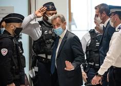 Bivši francoski predsednik Sarkozy zaradi korupcije obsojen na tri leta zapora