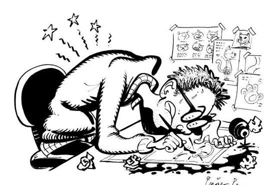 Gašper Rus: Strip nas lahko trenutno spomni na življenje pred epidemijo