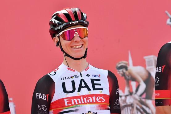 Pogačar podaljšal sodelovanje s svojo ekipo UAE Team Emirates do leta 2026