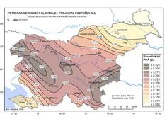 Urad za seizmologijo pripravil novo karto potresne nevarnosti