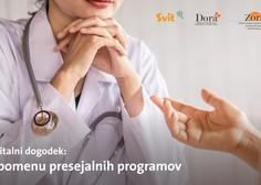 Digitalni dogodek z zdravniki, ki se ga morate udeležiti (tudi, če ste zdravi)