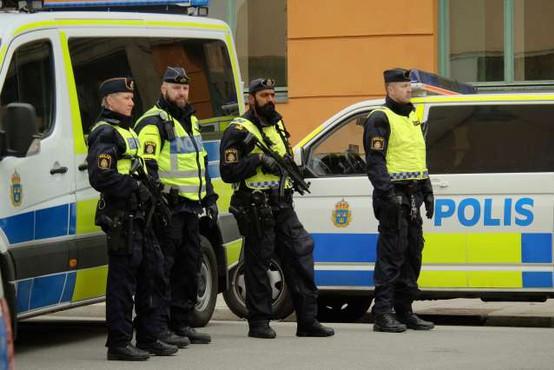 Na Švedskem več ranjenih v domnevnem terorističnem napadu