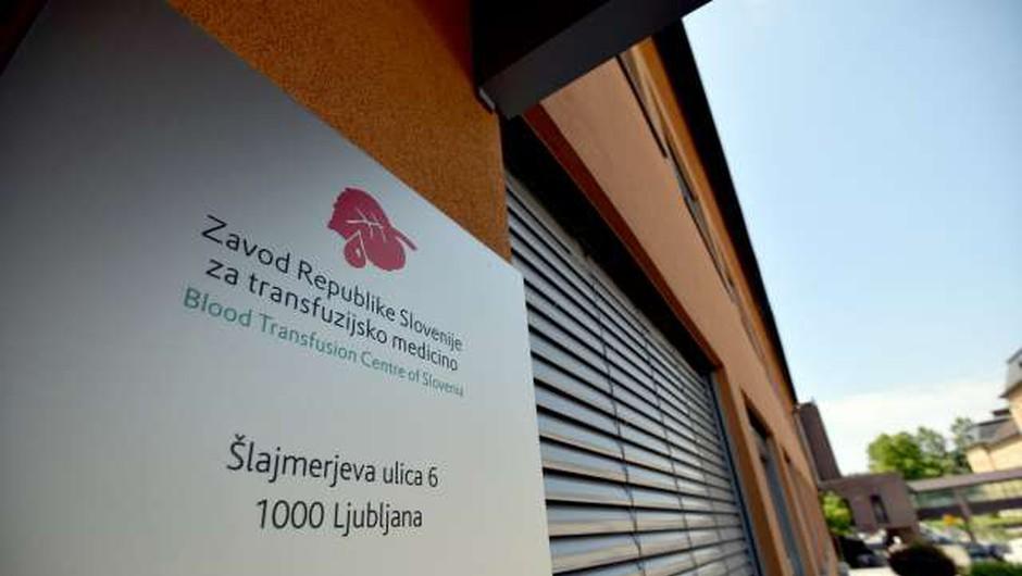 Zavod za transfuzijsko medicino: Dovolj nevtralizacijskih protiteles le v tretjini odvzetih plazem (foto: Tamino Petelinšek/STA)