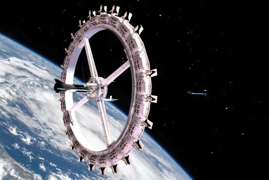 Prvi hotel v vesolju se obeta že leta 2027 – realnost ali utopija?