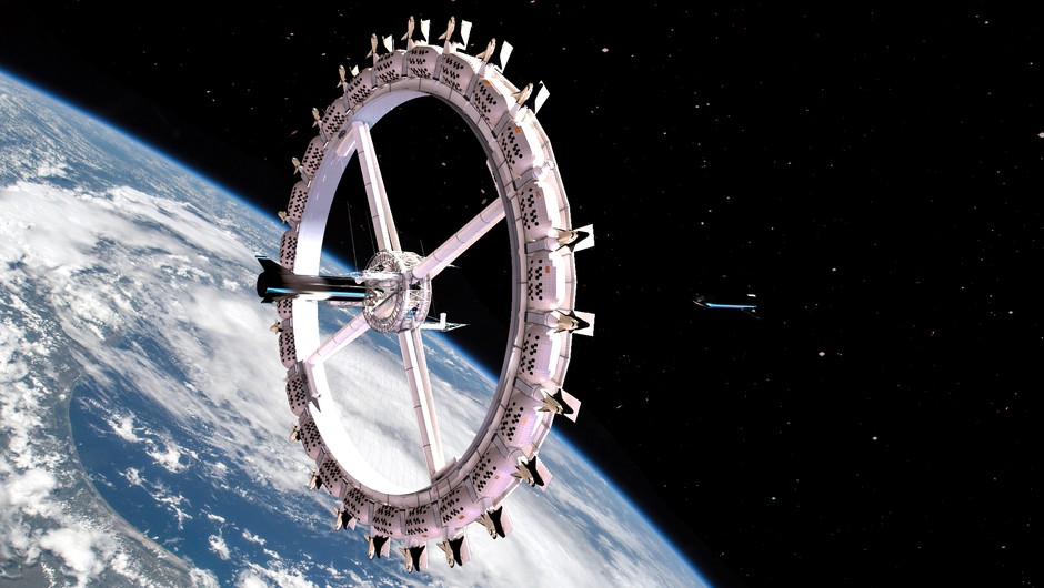Prvi hotel v vesolju se obeta že leta 2027 – realnost ali utopija? (foto: Orbital Assembly Corporation)