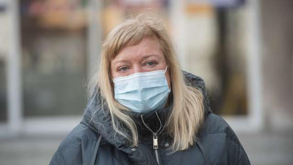 Infektologinja Kotarjeva: Naše učne knjige so bili naši bolniki (foto: Bor Slana/STA)