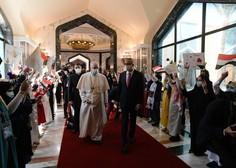 Papež Frančišek in verski poglavar šiitov Ali al Sistani podpirata versko sožitje