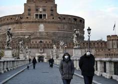 Italija zaostruje ukrepe, Kampanija znova rdeča