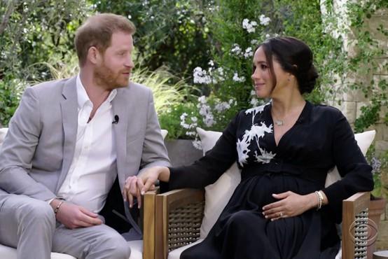 Meghan v intervjuju z Oprah: Zaradi rasizma kraljeve družine sem razmišljala celo o samomoru