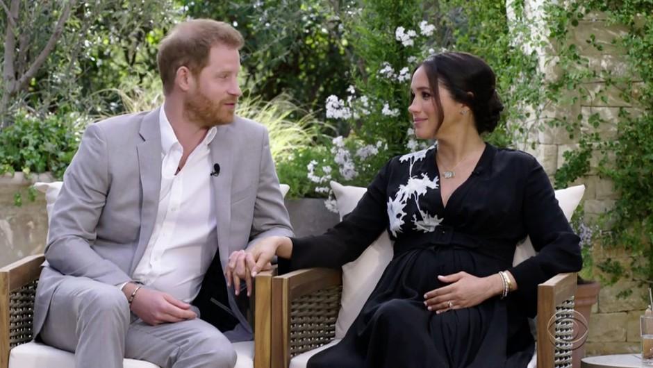Meghan v intervjuju z Oprah: Zaradi rasizma kraljeve družine sem razmišljala celo o samomoru (foto: Profimedia)