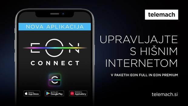 Tukaj je EON Connect – Telemachova inovacija na področju internetne varnosti! (foto: Telemach)