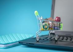 Spletno nakupovanje živil priljubljeno tudi v drugem valu covida-19