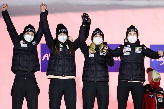 Junaki nordijskega svetovnega prvenstva rišejo nasmehe na obraz
