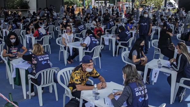 V Braziliji rekordno število umrlih covidnih bolnikov, bolnišnice na robu zloma (foto: Profimedia)