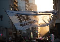 V Buenos Airesu protesti za Maradono