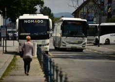 Epidemija še naprej zavira potniški promet