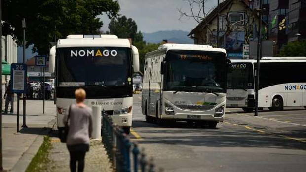 Epidemija še naprej zavira potniški promet (foto: Tamino Petelinšek/STA)