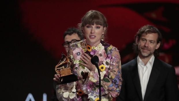 Na 63. podelitvi grammyjev sta se Beyonce in Taylor Swift zapisali v zgodovino (foto: Profimedia)