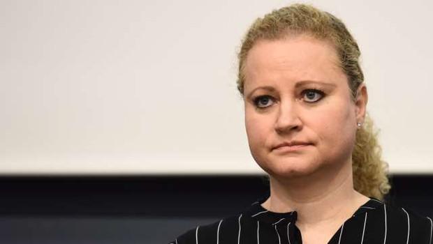 """Katja Zabukovec Kerin: """"Čudili smo se, da v prvem, spomladanskem valu umorov niti ni bilo!"""" (foto: Tamino Petelinšek/STA)"""