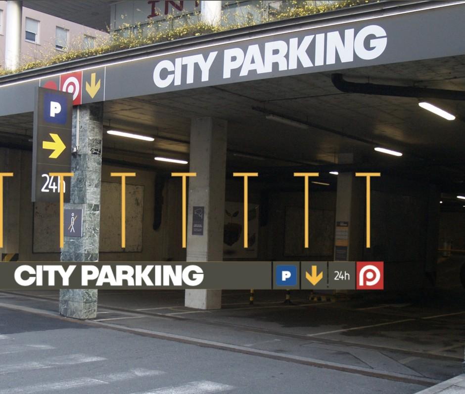 Najbolj digitalna parkirna hiša v Sloveniji (foto: Easy Park)