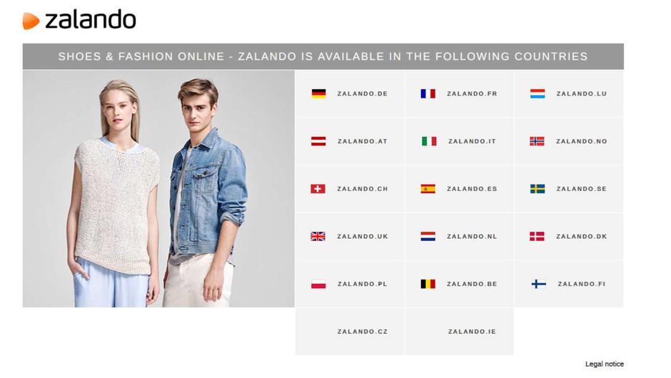 V Slovenijo prihaja evropska spletna platforma za modo in življenjski slog Zalando (foto: https://zalando.com/)
