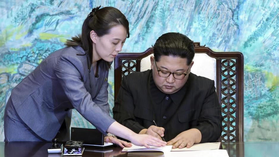 Sestra severnokorejskega voditelja opozorila ZDA, naj ne ustvarijo smradu, če želijo mirno spati (foto: profimedia)