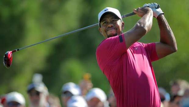 Tiger Woods ob nesreči vozil med 130 in 140 km/h (foto: Xinhua/STA)