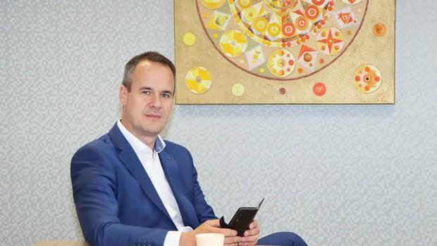 """Bart Stegeman, direktor podjetja Skaza: """"Slovenski prostor je bolj butičen in omogoča, da hitreje pustiš svoj pečat"""" (foto: Skaza)"""