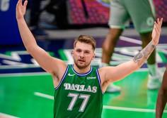 Dončić z 42 točkami popeljal Dallas Mavericks do zmage