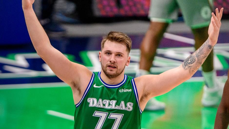 Dončić z 42 točkami popeljal Dallas Mavericks do zmage (foto: Profimedia)