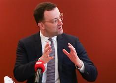 Jens Spahn opozoril, da v Nemčiji cepljenje ne bo ustavilo tretjega vala epidemije
