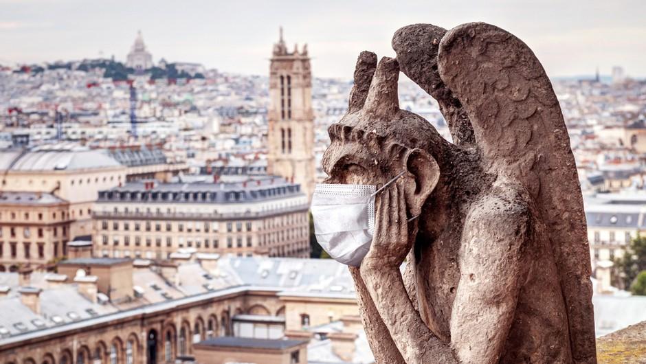 """V Parizu in številnih regijah po Franciji od sobote ponovno """"lockdown"""" (foto: Shutterstock)"""