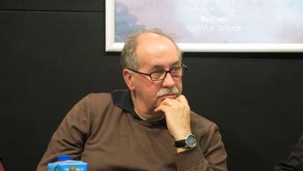 Nedavno preminulemu pisatelju Marku Sosiču so se v Trst poklonili z videom (foto: STA/Tinkara Zupan)