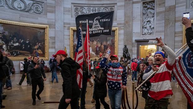 Za januarski napad na ameriški kongres obtoženi vodilni člani desnice Ponosni fantje (foto: profimedia)