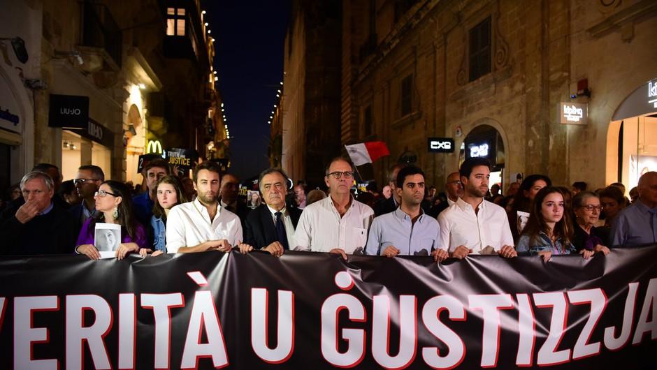 Keith Schembri, vodja kabineta bivšega malteškega premierja, pred roko pravice (foto: profimedia)
