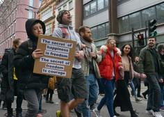 Na nemško policijo letijo kritike zaradi ravnanja proti protestnikom
