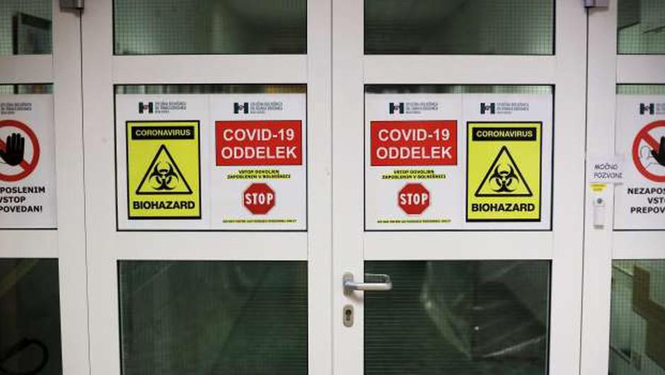 Carotta: Zaradi slabšanja epidemiološkega stanja so vse bolnišnice spet covidne bolnišnice (foto: Daniel Novakovič/STA)