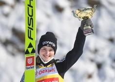 Sezona presežka za smučarske skakalke: Nika Križnar na finalu sezone napada veliki kristalni globus