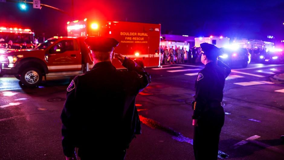 Strelski pokol v trgovini v bližini Denverja, umrlo deset ljudi (foto: Profimedia)
