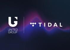 United Group omogočil vsem Telemachovim uporabnikom dostop do glasbene platforme TIDAL