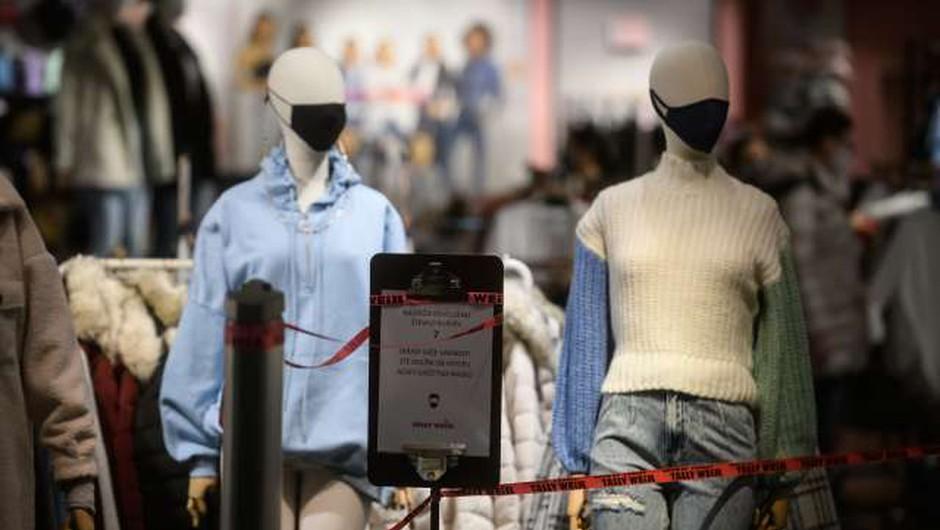 Marca slabše razpoloženje potrošnikov (foto: Nebojša Tejić/STA)