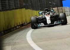 Tekmeci spet lovijo Hamiltona, ta pa lovi nove rekorde