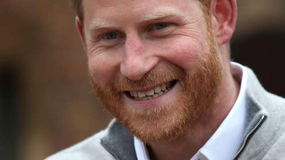 Princ Harry si je v ZDA našel službo (foto: Xinhua/STA)