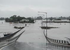 Poplave v Avstraliji zahtevale prvo življenje