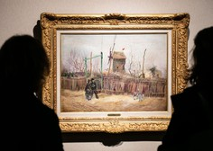 Po stotih letih v družinski lasti Van Goghova slika na dražbi prodana za 13,1 milijona evrov