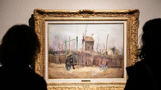 Po stotih letih v družinski lasti Van Goghova slika na dražbi prodana za 13,1 milijona evrov (foto: profimedia)
